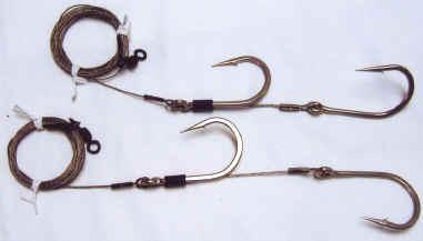 Bait rigs for Shark fishing hooks